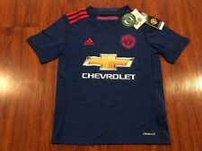 2016-17 Adidas Manchester United Youth Away Soccer Jersey Small S Man U Boys