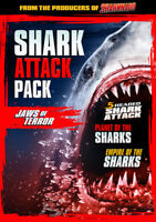 Shark Attack Pack: Jaws Of Terror [New DVD] Widescreen