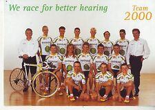 CYCLISME carte  équipe cycliste PHONAK 2000