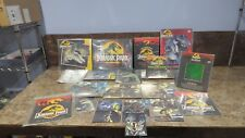 Original Jurassic Park 1992 Collector Post Cards, Hologram, and making of book!!