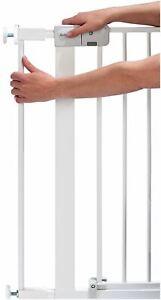 Safety 1St GATE EXTENSION WHITE 7CM Safety Stair Gate BNIP