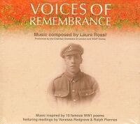 VOICES OF REMEMBRANCE Laura Rossi MUSIC CD
