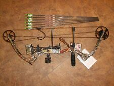 New Parker Eagle RH single cam compound bow package w arrows REG Price 399.99