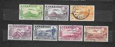 ETIOPIA  7 valori  1947  lot lotto