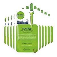 [MEDIHEAL] Teatree Care Solution Essential Mask EX 10 Pcs K-Beauty