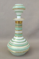 French Opaline Art Glass Small Perfume Bottle C1880's