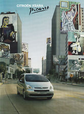 Citroen Xsara Picasso 1.6 1.8 16v 2.0 HDI folleto brochure 2004/17