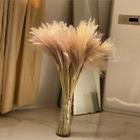 Artificial Natural Dried Pampas Grass Flower Bunch Wedding Bouquet Home Decor Uk