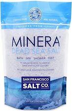 Minera Dead Sea Salt To Relieve Psoriasis Eczema & Acne (Bulk 10Lb Bag)