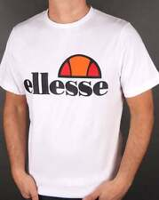 Ellesse Logo T-Shirt in White - Prado Court Exhibition Manarola Quattro