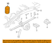 GM OEM Rear Suspension-Auxiliary Spring 15962403