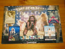 TAYLOR SWIFT - ALL AUSTRALIAN TOUR S - Laminated Retail Poster - Ready To Frame