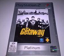The Getaway playstation 2 PS2 (Platinum) aus game PAL