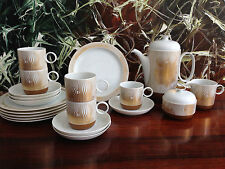 ROSENTHAL Studio Linie, Form Duo MANIPUR - 19 tlgs Kaffeeservice VICTOR VASERELY