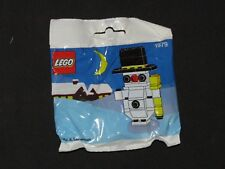 Rare 1991 Lego #1979 Exclusive Christmas Snowman Holiday Set New Sealed Poly Bag