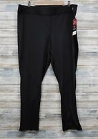 Fila Men's Running Pants Black Stretch Size 2X  (C-90)