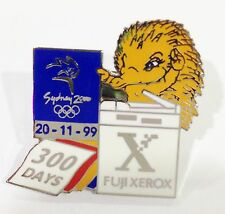 SYDNEY OLYMPIC GAMES 2000 MILLIE FUJI XEROX OFFICIAL PARTNER 300 DAYS PIN #491