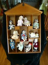 Ashton Drake - Picture Perfect Babies - Porcelain Mini-Dolls with Display Case