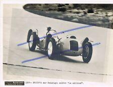 Photo originale René DREYFUS  DELAHAYE au Grand Prix ACF 1937
