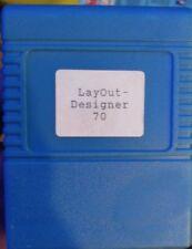 Layout Designer 1.4 (Rossmöller) C64 Commodore 64 Modul Cartridge