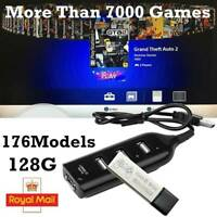 HOT#Game Enhancer Built-in 7000 Games For Mini PS1 Classic Games 128G 176 Models