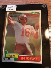 1981 Topps Joe Montana #216 RC MINT