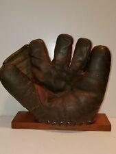Vintage Split Finger Baseball Glove