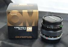 Olympus OM System 50mm f/1.4 G.Zuiko Auto S Standard Prime Camera Lens with Box