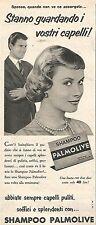 W8678 Shampoo PALMOLIVE  - Pubblicità del 1958 - Vintage advertising