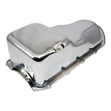 Stock Capacity Chrome Oil Pan - 59-81 Pontiac 301 326 350 389 400 421 428 455 V8