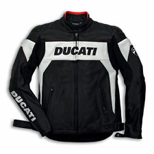 Dainese Men's Leather Motorcycle Jackets with Quilted Lining