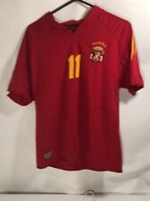 jersey red Espana #11 Reyes soccer Football League L