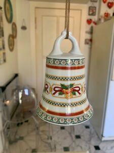 Hutschenreuther LOUVRE Weihnachten große Glocke H 12cm I. Wahl - neu ohne OVP