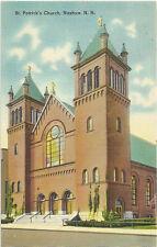 New Hampshire - Nashua - St. Patricks Church - C-1930-50