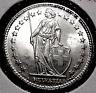 1939-B SWITZERLAND SILVER 2 FRANC COIN... BU.....MIN. BID .01 & NO RESERVE!