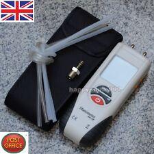 Digital Manometer Differential Air Pressure Meter Gauge