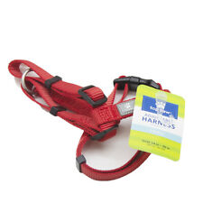 Top Paw Dog Harness Adjustable Red - Small