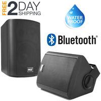 Patio Speakers Bluetooth Pair System Wireless Weatherproof Indoor Outdoor Deck