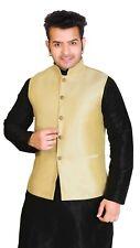 Men's Royal Wedding Ethnic Asian Fancy Button Waistcoat Jacket Only 1024 UK