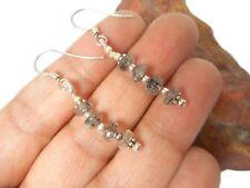 Rutile  QUARTZ   Sterling  Silver  925  Gemstone  EARRINGS  -  Gift  Boxed!