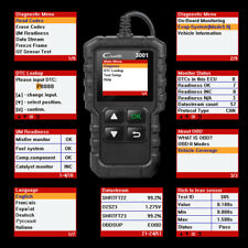 US Launch CR3001 OBD Code Reader OBD2 Scanner Check Engine Fault Diagnostic Tool