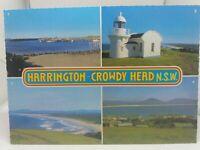 Vintage Postcard Crowdy Head Lighthouse Harrington New South Wales  Australia