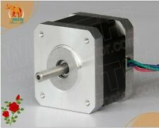 CNC 4-lead Nema17 Stepper Motor 42BYGHW208 37oz-in 34mm 0.4A Foam Mill Cut