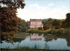 Deutschland, Friedrichroda. Schloss Reinhardsbrunn. vintage print photochromie