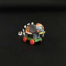 Rare Mary Engelbreit Miniature Christmas Ornament Toy Elephant