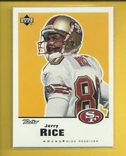 Jerry Rice 1999 Upper Deck Retro Card # 141 San Francisco 49ers Football NFL