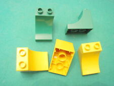 LEGO group DUPLO 5 mattoncini curvi 2 verdi 3 gialli