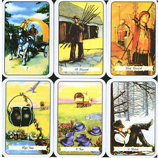 New Sealed Cards Deck The Buckland Romani Tarot Gypsy Russian Oracle 78 Fortune