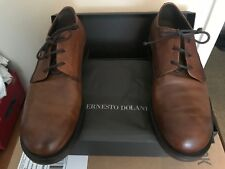 ERNESTO DOLANI New Brown/Ginger Leather Dress Shoes.