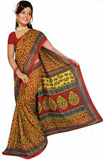 mousseline Bollywood Carnaval SARI ORIENT INDE fo357